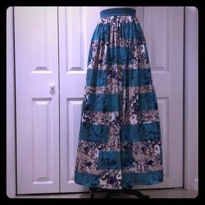 Anthropologie full skirt - Moulinette Soeurs